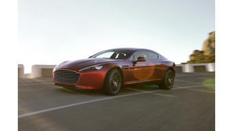 Aston Martin CEO announces plans to build electric Rapide luxury car
