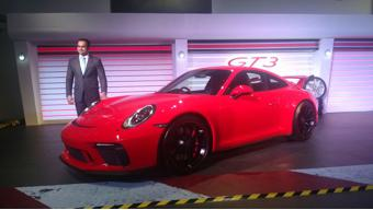 Porsche launches 911 GT3 in India at Rs 2.31 crores