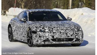 Audi e-tron GT Photos