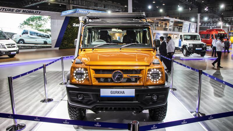 Force Motors Gurkha New