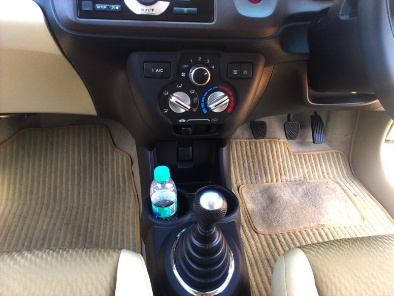 Honda Amaze Interior floor image