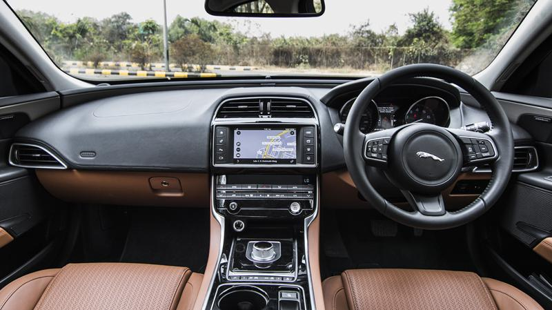 Jagaur XE JLR First Drive Review CarTrade Interior Photos Images Pics India 20160301 06